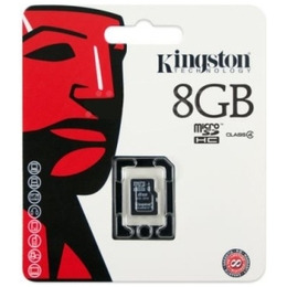 Kingston SDC4/8GBSP microSDHC Card – Class 4  Reviews