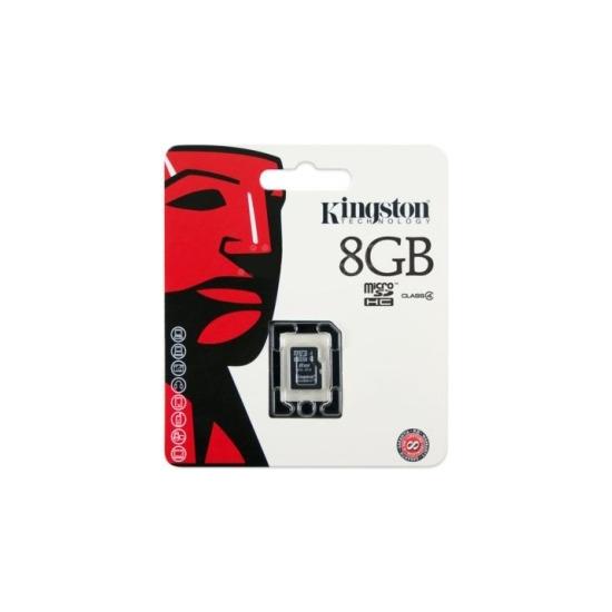 Kingston SDC4/8GBSP microSDHC Card – Class 4