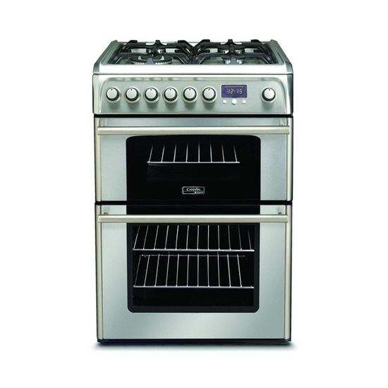 Cannon CH60DPXF Dual Fuel Cooker - Stainless Steel