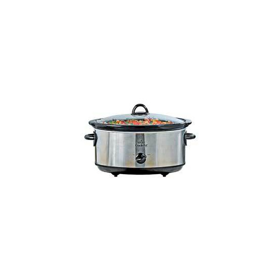 Brushed Chrome Slow Cooker
