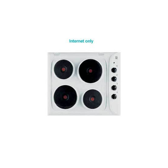 P1604 White Sealed Plate Electric Hob.