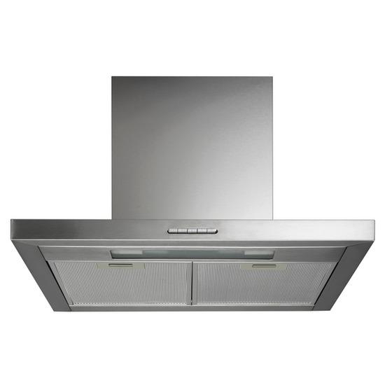 Logik LCHD60S12 Chimney Cooker Hood - Stainless Steel
