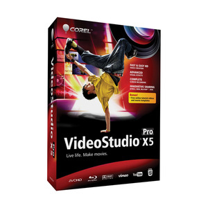 Photo of Corel VideoStudio Pro X5 Software