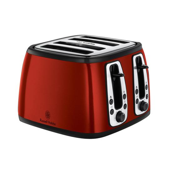 Heritage 19160 4-Slice Toaster - Red