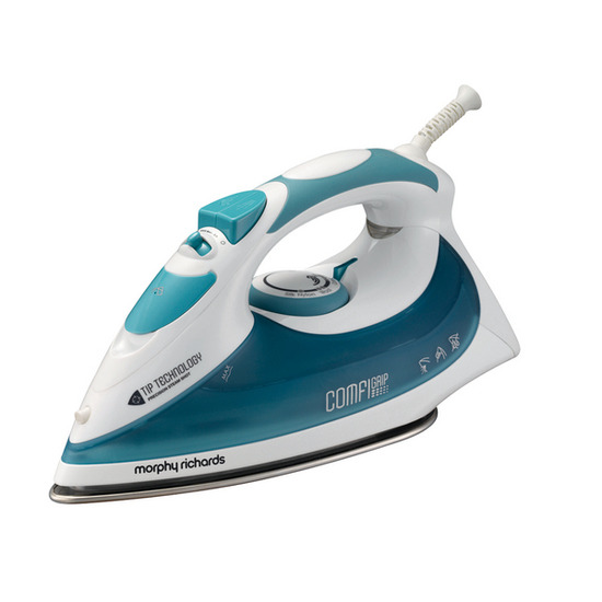Morphy Richards Comfigrip 40729 Steam Iron - Blue