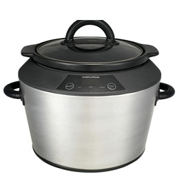 Morphy Richards 48724 Slow Cooker - Stainless Steel Reviews