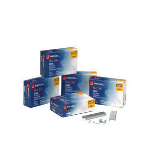 Photo of Rexel Standard Staples No. 56-6MM (5000/BX) Stationery