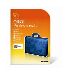 Microsoft Office 2010 Professional 1 User PC DVD Reviews