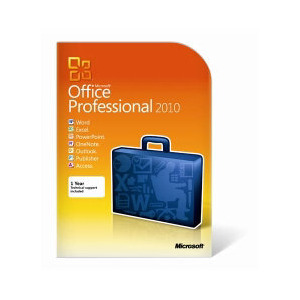 Photo of Microsoft Office 2010 Professional 1 User PC DVD Software