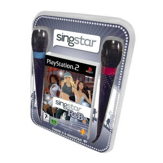 Singstar R&B with microphones (PS2)