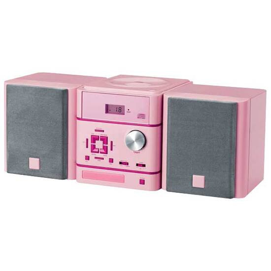 Pink CD Micro System