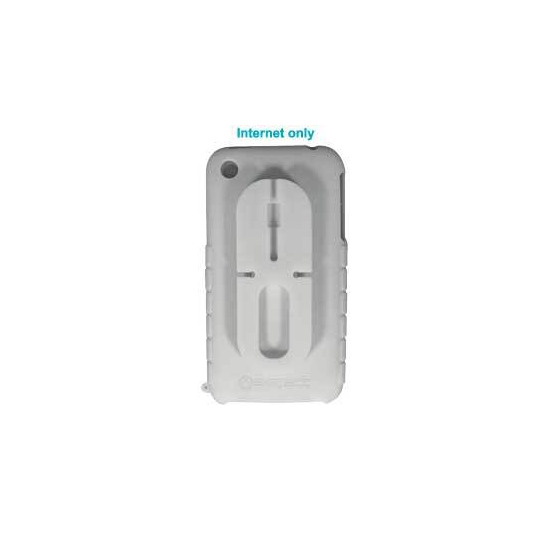 iPhone 3G White Silicone Skin with Cable Tidy