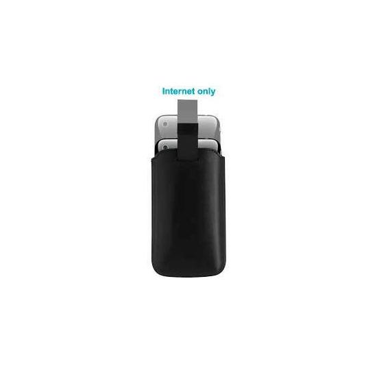 iPhone 3G Leather Slip Case - Black