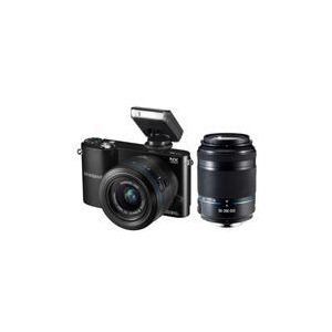 Photo of NX1000 Compact System Camera In Black With 20-50 and 50-200MM Lenses Digital Camera