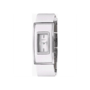 Photo of DKNY Ladies Watch With White Leather Strap NY4307 Jewellery Woman