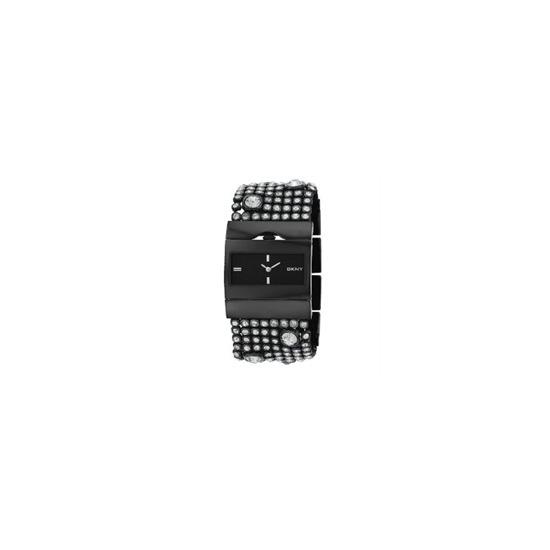 DKNY Ladies Black Crystal Set NY3927 Watch