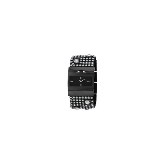 DKNY Ladies Black Crystal Set NY3927 Watch