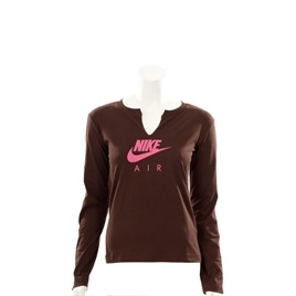 Nike Active Chocolate Long Sleeved Logo T-shirt Reviews