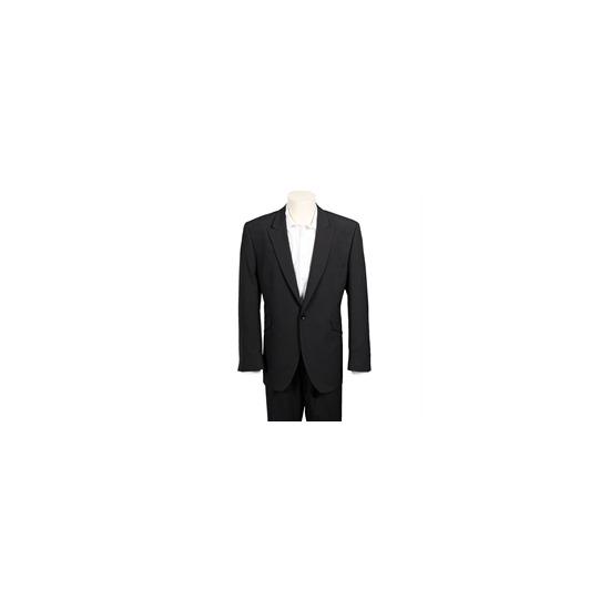 Gibson Peak Lapel 1 Button Suit - Black
