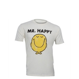 "Junk Food "" Mr Happy"" T-shirt - White Reviews"
