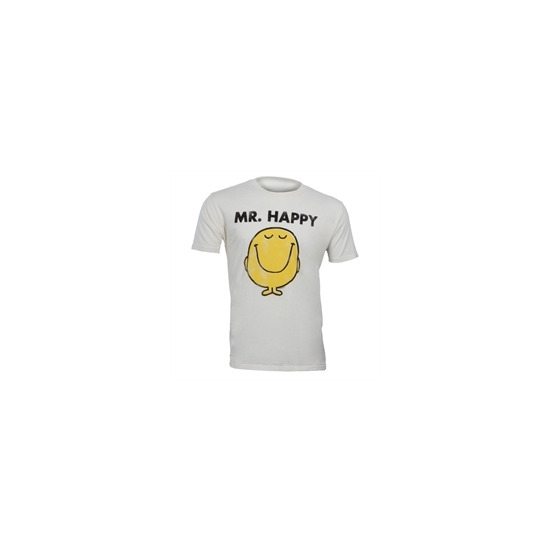 "Junk Food "" Mr Happy"" T-shirt - White"