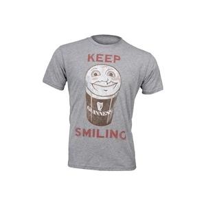 "Photo of Junk Food ""Keep Smiling"" Tee - Grey T Shirts Man"
