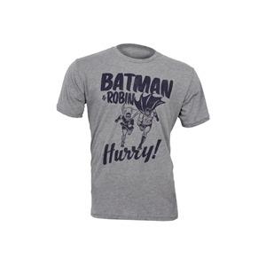 Photo of Junk Food Batman & Robin Hurry Tee- Grey T Shirts Man