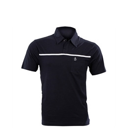 Navy Penguin Polo Shirt with Single Stripe Reviews