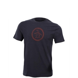 Penguin Version of Circle Logo Tee - Navy Reviews