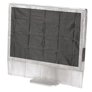 """Photo of Hama 24/26"""" Wide Transparent Screen Dust Cover Computer Component"""