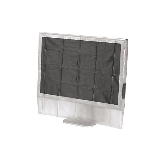 """Hama 24/26"""" Wide Transparent Screen Dust Cover"""