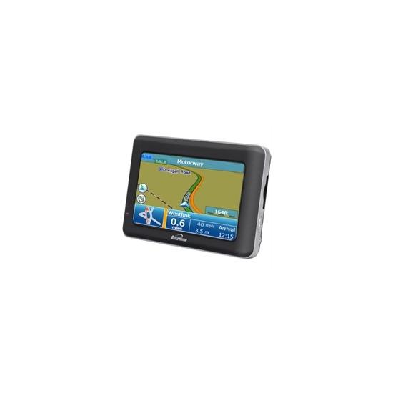 Binatone Carrera X430 Widescreen (Europe) GPS