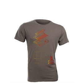 Joystick junkiies Atari Console Tee  Moonmist Grey Reviews