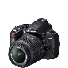 Nikon D3000 with Nikkor 18-55mm VR Lens Reviews