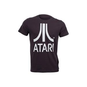 Photo of Joystick Junkies Atari White Charcoal T-Shirt T Shirts Man