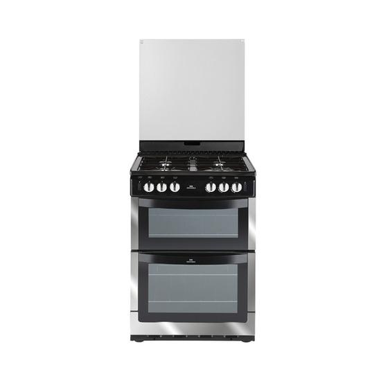NEW WORLD 601GDOL Gas Cooker - Chrome