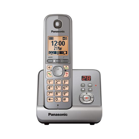 Panasonic KX-TG6721EM Digital Cordless Phone with Answering Machine