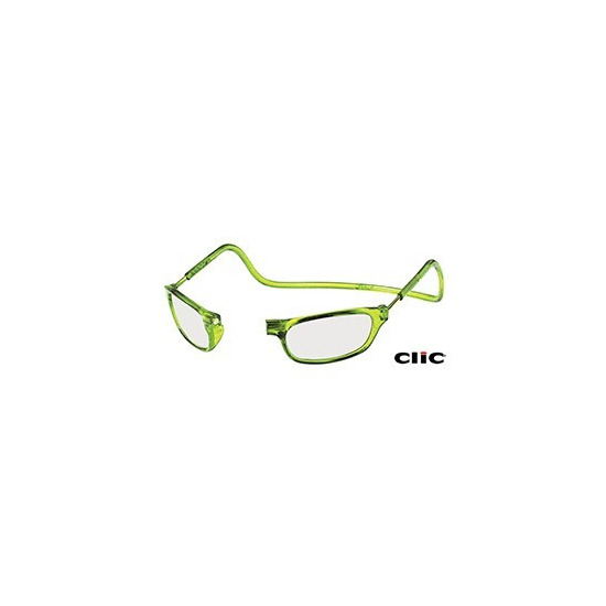 Clic Lime Green Glasses