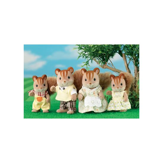 Sylvanian Families - Walnut Squirrel Family