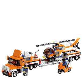 Lego City - Helicopter Transporter 7686 Reviews