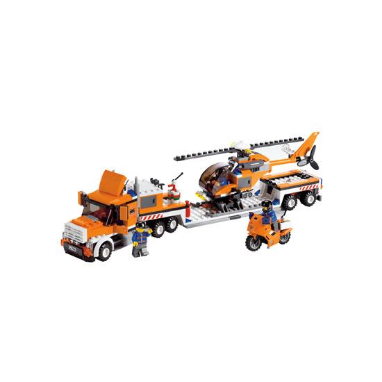 Lego City - Helicopter Transporter 7686