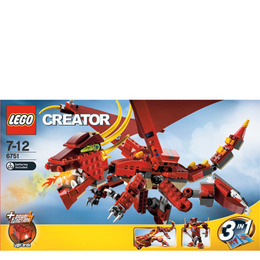 Lego Creator - Fiery Legend 6751 Reviews