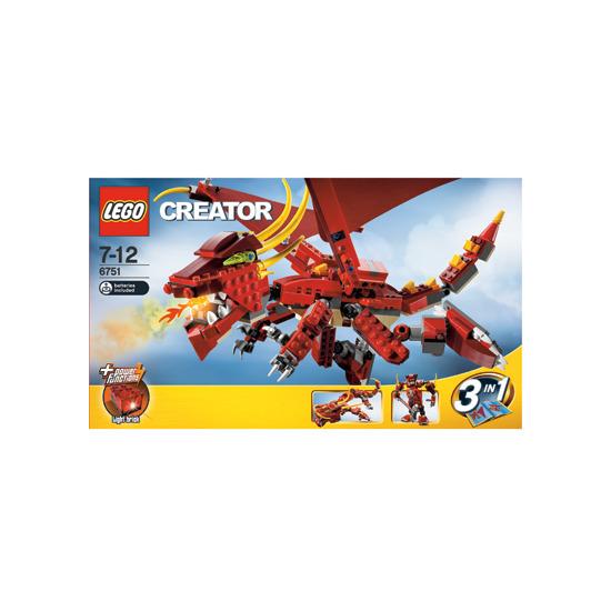 Lego Creator - Fiery Legend 6751