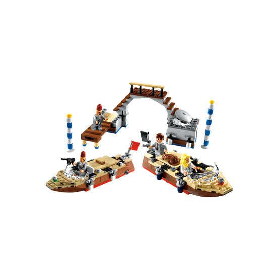 Lego Indiana Jones  - Venice Canal Chase 7197