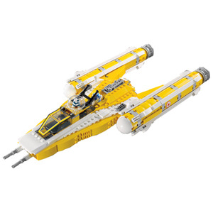 Photo of Lego Star Wars  - Anakin's Y-Wing Starfighter 8037 Toy