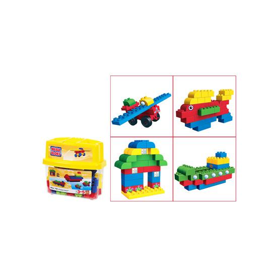 Mega Bloks Minibloks Tub - Primary Colours