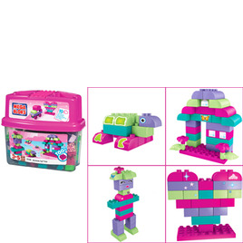 Mega Bloks Minibloks Tub - Pink Reviews