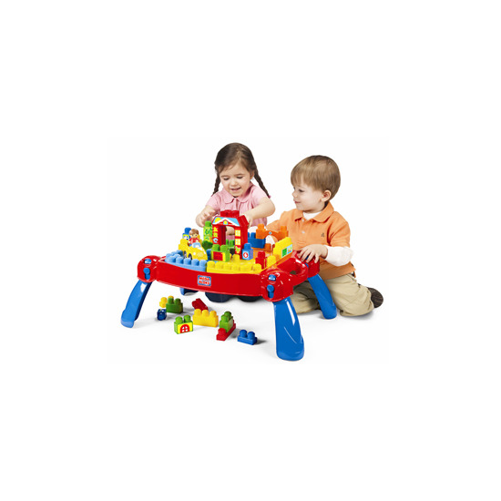 Mega Bloks 3 in 1 Play 'n' Go Table
