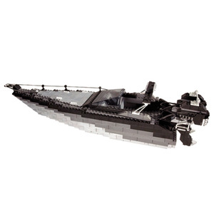 Photo of Mega Bloks - Pro Builder Carbon Deluxe Sets - Speed Boat Toy