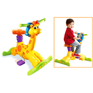 Photo of VTECH Animal Fun Bounce and Ride Giraffe Toy